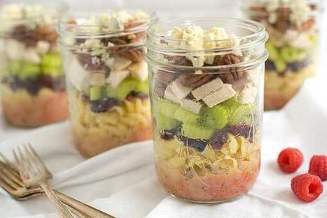 15 Mason Jar Salads That Will Transform Your Lunchtime | Nutrition Today | Scoop.it