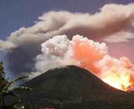 Mount Lokon Eruption: Big Pic : Discovery News | Natural Disasters | Scoop.it