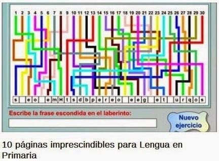 10 páginas imprescindibles para lengua en educación primaria | EXPRESIONES | Scoop.it