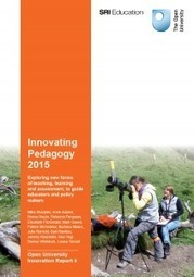 Les 10 innovations pédagogiques qui feront 2016 d'après l'Open University Innovation (Report 4) | eLearning - entre pedagogies et technologies - between pedagogy et technology | Scoop.it