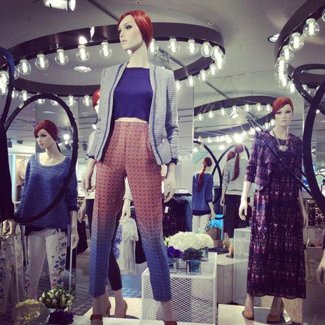 H&M visual merchandising at Oxford street, London » Retail Design Blog | interior design | Scoop.it