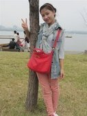 chinese girls style | personalized canvas messenger bags and backpack | Scoop.it