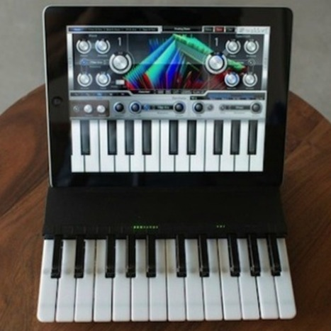 Keyboard Case Turns Your iPad Into a Pint-Sized Piano - Mashable   Edupads   Scoop.it