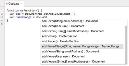 More Apps Script APIs and Features - Google Apps Developer Blog | desktop liberation | Scoop.it