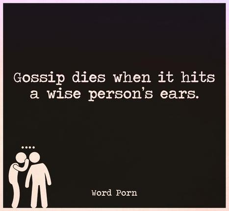 Say 'No' to gossip | PDHPE | Scoop.it