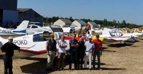 76 avions sur le tarmac de Châtellerault-Targé   Chatellerault, secouez-moi, secouez-moi!   Scoop.it