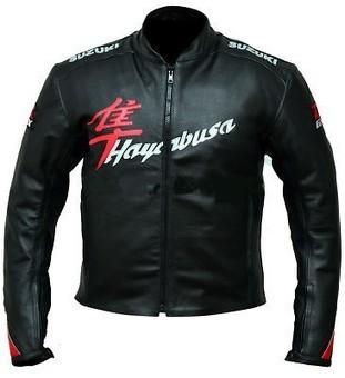Suzuki Hayabusa Black Motorcycle Leather Jacket | Suzuki Hayabusa Jacket | Scoop.it