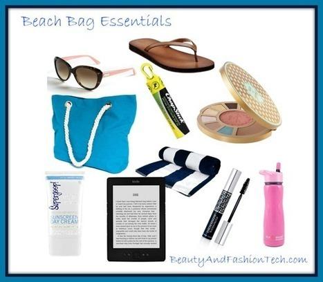 Top Ten Items In My Beach Bag | Anti Aging News, Breakthroughs and Tips | Scoop.it