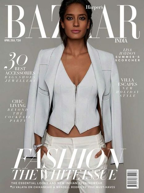 Lisa Haydon covers Harper's Bazaar Magazine | Magazines Cover Girl | Scoop.it