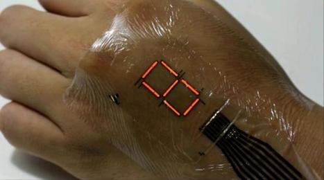 New 'e-skin' tech turns your body into a walking display | Technology News | Scoop.it