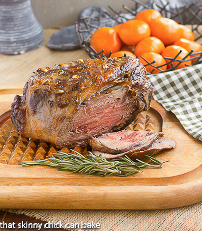 Glazed Leg of Lamb with Garlic and Rosemary | @Ease Catering Limited | Scoop.it
