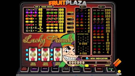 Lucky Friends van Fruitplaza | Fruits4real.com | Gokkasten fun | Scoop.it