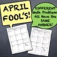 April Fool's Cumulative Math Quiz! (Different Problems All Have SAME ANSWER!) - MathyCathy | Tablet Technology & Mathematics Education | Scoop.it
