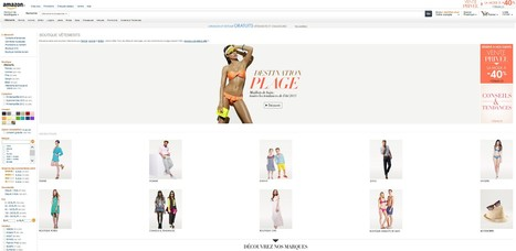 Amazon lance sa boutique mode en France | e-commerce  - vers le shopping web 3.0 | Scoop.it