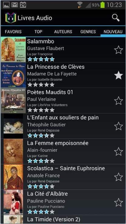 15 000 livres à écouter sur Android, Livres Audio | Les Infos de Ballajack | dixmois | Scoop.it