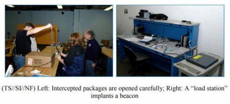 Les images de la NSA interceptant les colis ! | Un monde qui bouge (HighTech) | Scoop.it