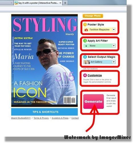 Montage Photo, réaliser la couverture d'un magazine avec votre photo | Julia2 | Scoop.it