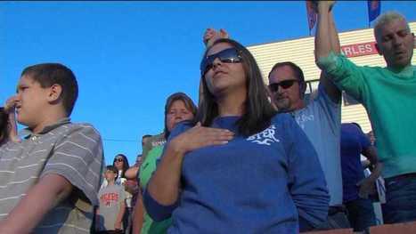 Randleman community prays at football game | Troy West's Radio Show Prep | Scoop.it