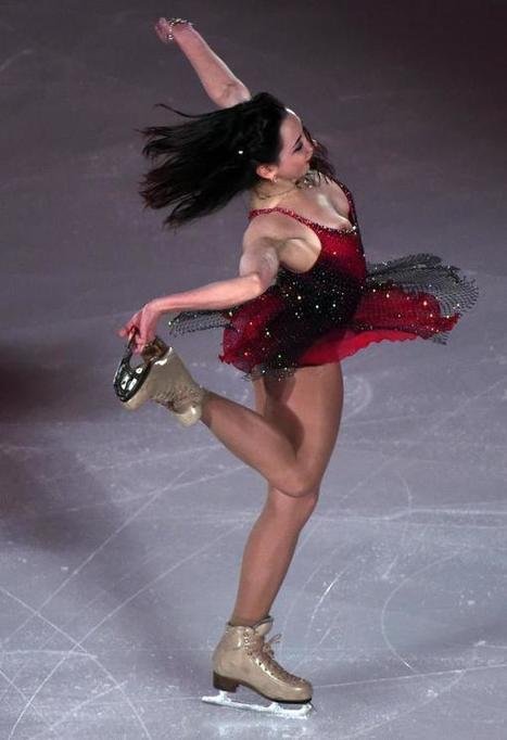 Oops! La championne du monde de patinage artistique en dévoile trop sur la glace (photos) | Patinage artistique | Scoop.it