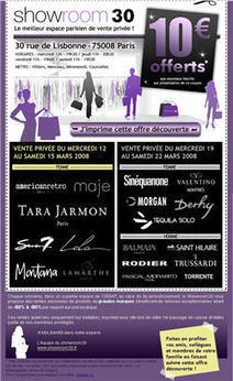 ShowRoomPrive.com en chiffres | showroomprivé.com, mcommerce | Scoop.it