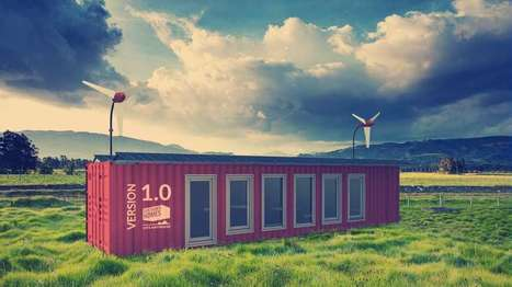 Sustainer Homes creates green, off-grid homes from shipping containers | Stu Robarts | GizMag.com | Développement durable et efficacité énergétique | Scoop.it