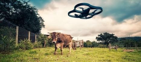 Les objets connectés pour l'agriculture - Les drones | Digital for real life | Scoop.it