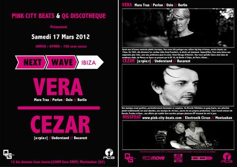 PCB PARTY 6 @ QG with VERA & CEZAR 17/03/2012 | PCB Radio - Pink City Beats Web Radio | Scoop.it