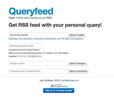 Créer des flux RSS depuis Twitter : trois outils au banc d'essai | RSS Circus : veille stratégique, intelligence économique, curation, publication, Web 2.0 | Scoop.it