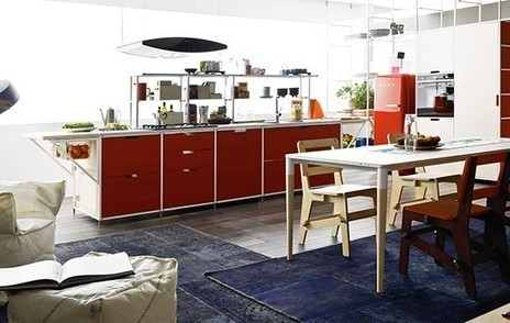 Meccanica Kitchen System by Gabriele Centazzo for Demode - 3rings | Pièces à vivre | Scoop.it