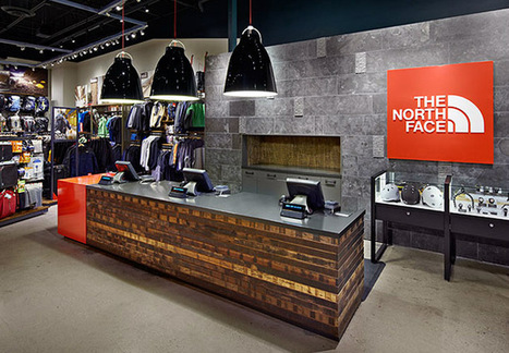 The North Face by Gensler, Indianapolis   Retail Design Review   Scoop.it