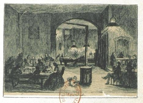 Cafés, cabarets, bistrots, caboulots, guinguettes, gargotes, estaminets, bars, assommoirs, restaurants du Paris du XIXe siècle. | Gallica | Digital preservation and history | Scoop.it