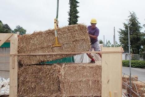 La maison de paille en première ligne des constructions durables | Construction d'avenir | Scoop.it