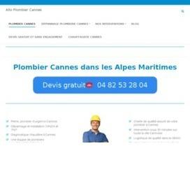 Plombier Cannes | Bons plans | Scoop.it