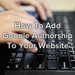 """How To Add Google Authorship To Your Website 
