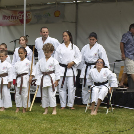 Karate students with disabilities 'Can-Do!' wow Glenview crowd - Glenview Announcements | Karate : A mix of tradition and modernity | Scoop.it
