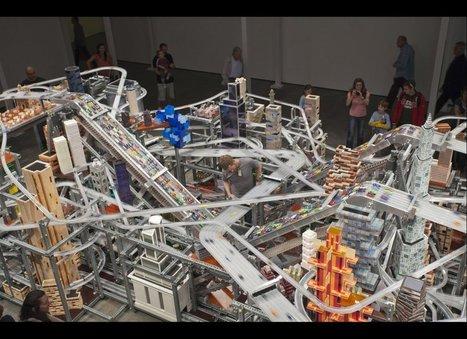 Chris Burden Installation 'Dystopian vision: Metropolis II' | Multiroom audio & video | Scoop.it