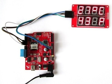 Step-by-step guide for making a very simple temperature and humidity meter with 7-segment LED displays   Embedded Lab   Arduino, Netduino, Rasperry Pi!   Scoop.it