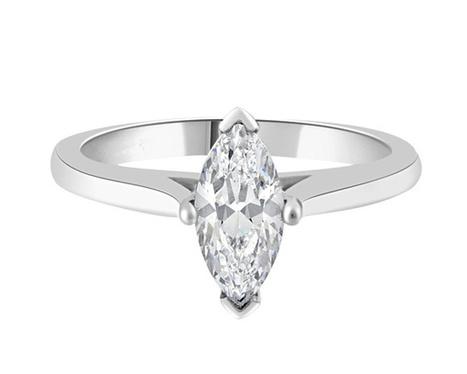 SR1042 1 Carat Marquise Diamond Ring |Bespoke Diamonds | Engagement Rings Dublin | Scoop.it