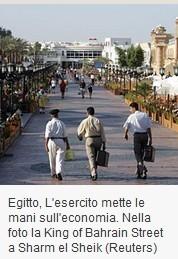 In Egitto l'esercito mette le mani sull'economia   Égypt-actus   Scoop.it
