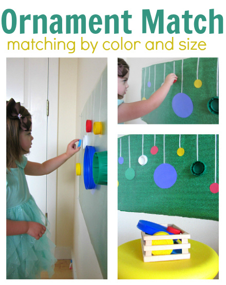 Ornament Color Match Activity | Jardim de Infância | Scoop.it
