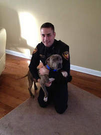 Aurora cop champions 'fierce' pit bull | Hope | Scoop.it