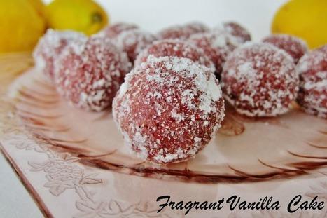 Raw Raspberry Lemon Donut Holes [Vegan, Gluten-Free] | My Vegan recipes | Scoop.it