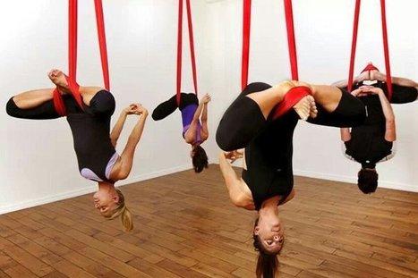 Yoga, pilates y fitness aéreos, una mezcla alternativa   Vida y Salud   Scoop.it