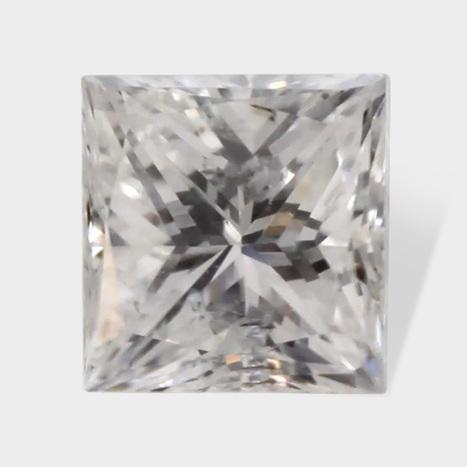 0.12 ctw 2 76 x 2 58 mm F White Color SI2 Clarity Princess Cut Real Diamond | Loose Diamonds | Scoop.it