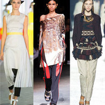 How To Wear The Skirt-Over-Pants Trend | Fashion & Style - News, Trends, Advice For The Busy Working Woman | Scoop.it