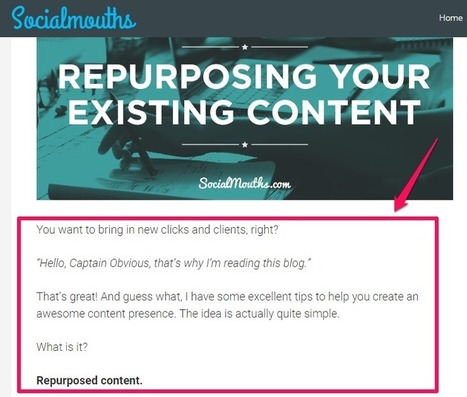 6 Simple but Powerful Steps to Get 80% of Your Readers to Finish Your Post   Great Blogging Tips   Scoop.it