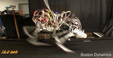 Boston Dynamics' Cheetah Robot Gallops at 18 mph | Sciences & Technology | Scoop.it