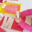 Christmas stockings and candy cane glitter in preschool | Teach Preschool | Scoop.it