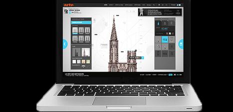 LE DÉFI DES BÂTISSEURS - LA CATHÉDRALE DE STRASBOURG à construire : un Webdoc et une application | Ecriture mmim | Scoop.it
