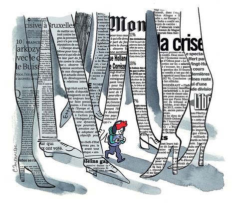 Les jeunes accros à l'info (mais pas aux journaux) | Les médias face à leur destin | Scoop.it